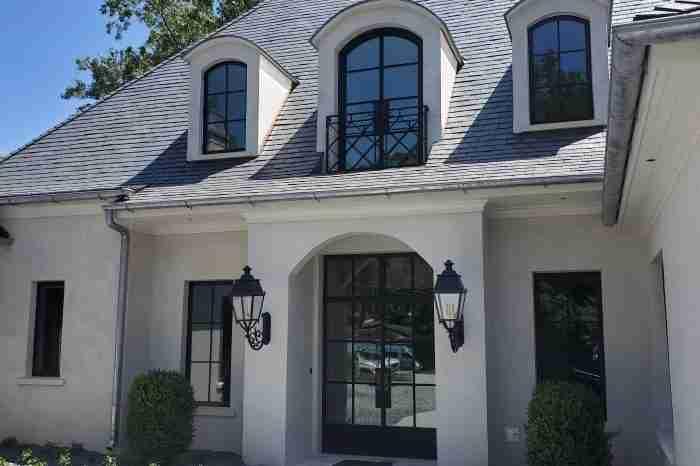 Atlanta Garden Hills Residence Exterior Lighting